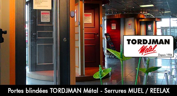 Porte blind e paris 16 showroom tordjman m tal for Porte tordjman